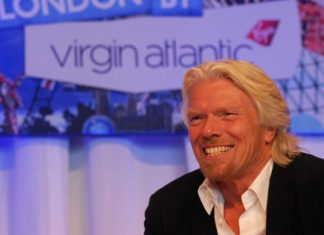 richard branson one of the world's leading entrepreneurs
