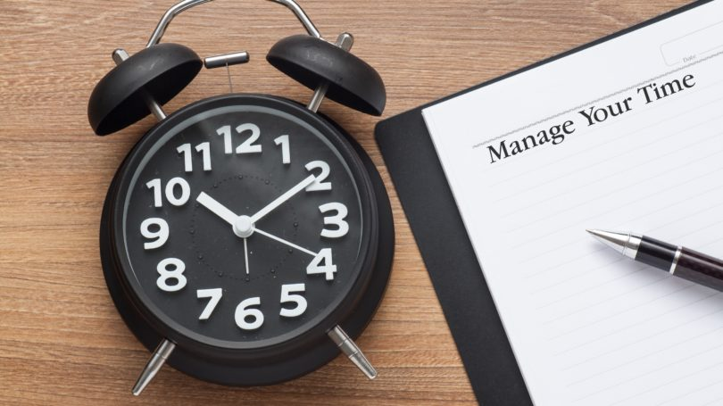 Time Management Clock To Do List