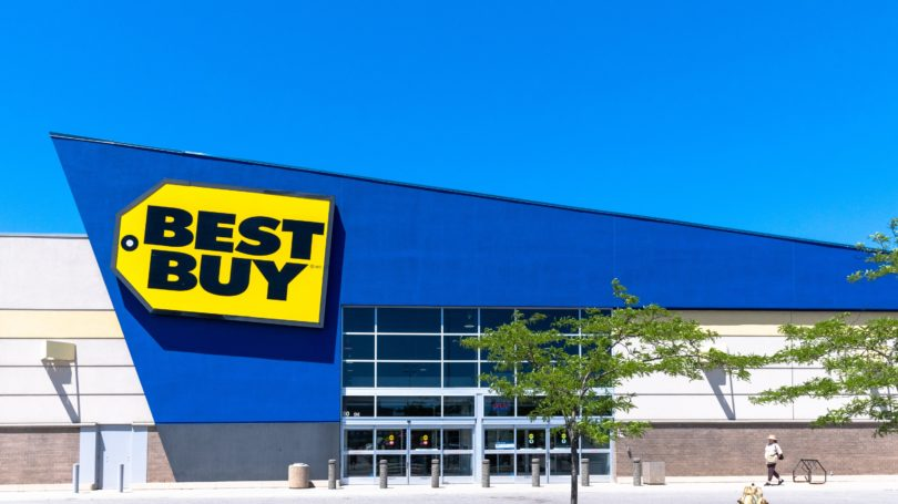 Best Buy Retail Store Outdoors