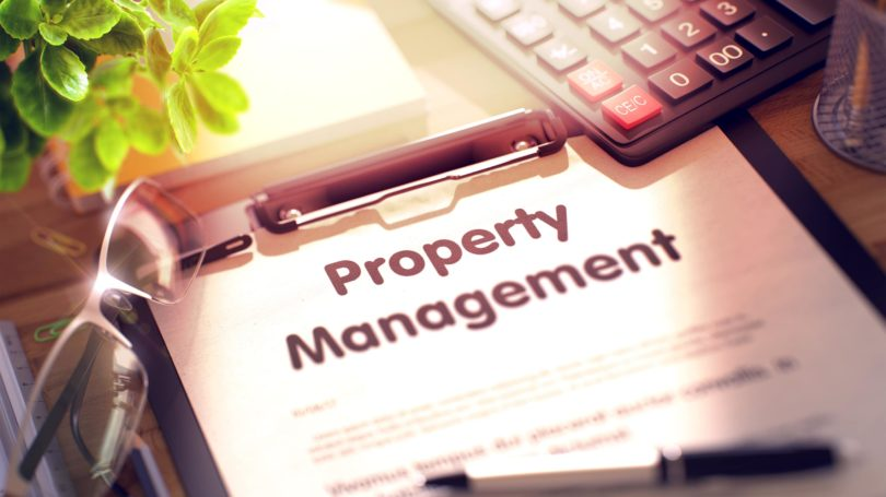 Property Management Contract Form Pen Calculator