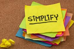 simplify post it note
