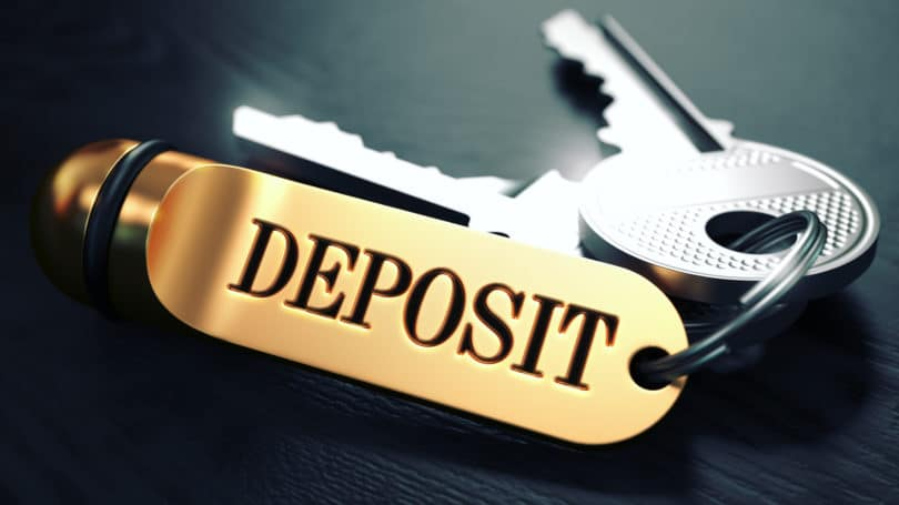 Special Deposits Fees