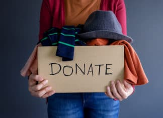 Donate Clothes Box