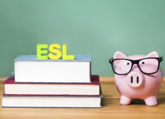 Esl English As Second Language Classroom Desk Teacher