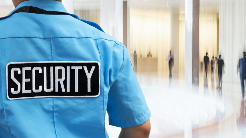 Security Guard Lobby Uniform Office