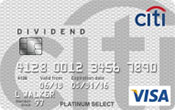 citi dividend platinum select card