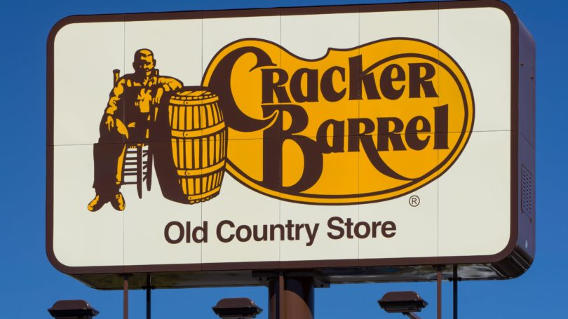 Cracker Barrel Old Country Store Restaurant Signage