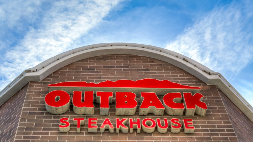 Outback Steakhouse Sign Outdoors Restaurant