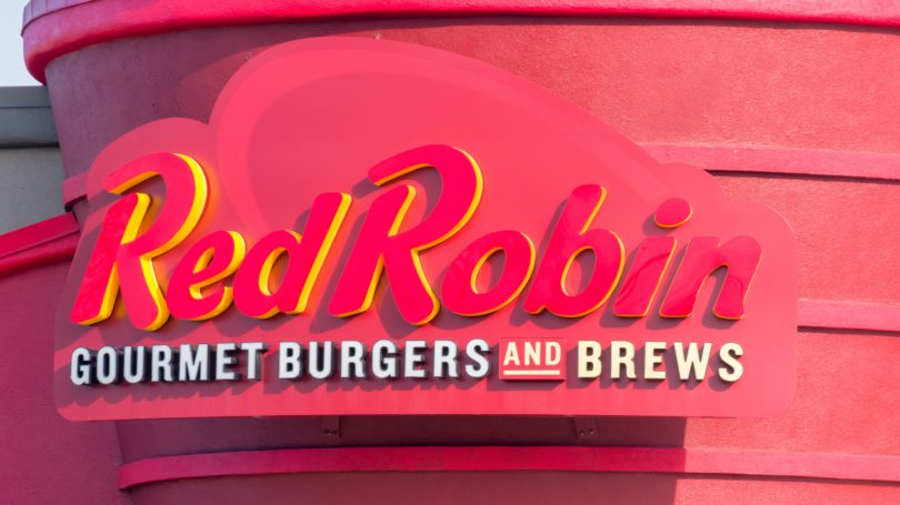 Red Robin Burger Restaurant Signage