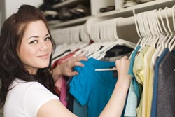 organize your clothes closet