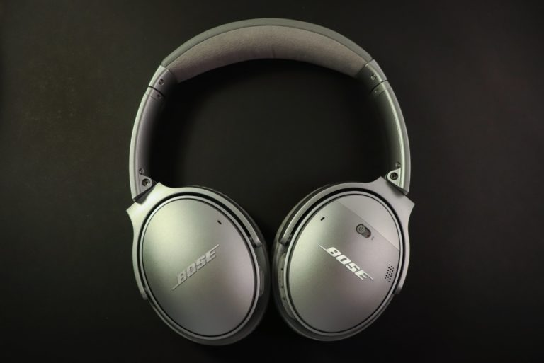 Bose Headphones Silver