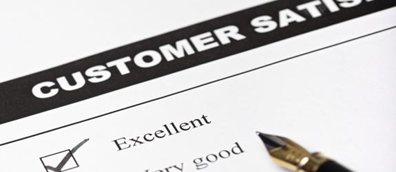 do you customers give you high marks?