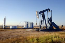 oil wells in texas