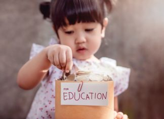 Children Saving Money Education Young Girl