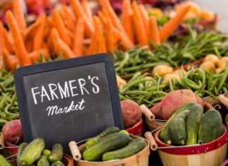 Farmers Market Fresh Produce Vegetables