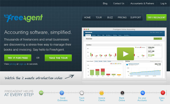 Best Online Accounting Bookkeeping Invoicing Software - Time tracking and invoicing software for freelancers