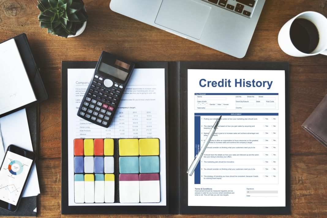 Credit History Invoice Payment Form Information Calculator