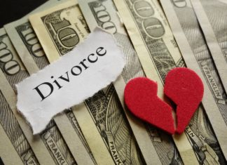 Divorce Cost Expensive Broken Heart