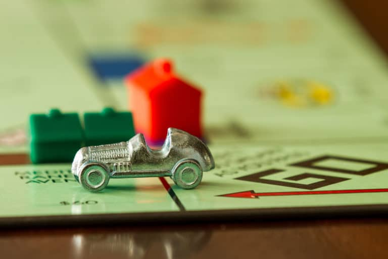 Monopoly Board Game House Hotel