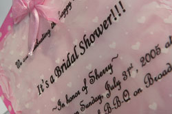 bridal shower