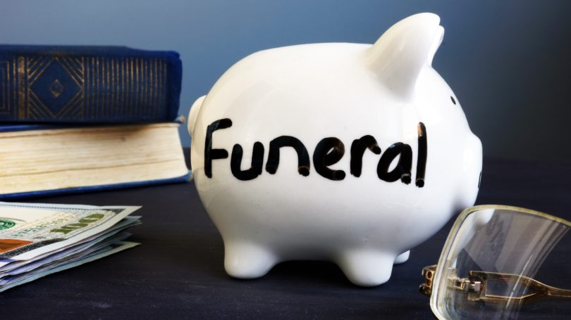 Funeral Expense Saving Piggy Bank