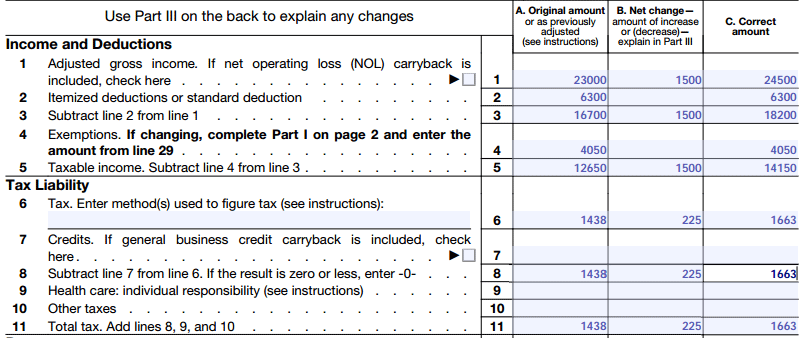 Form 1040x Instructions How To File An Amended Tax Return. 1040x Ine Tax Liability. Worksheet. 2014 Eic Worksheet B Line 4a At Clickcart.co