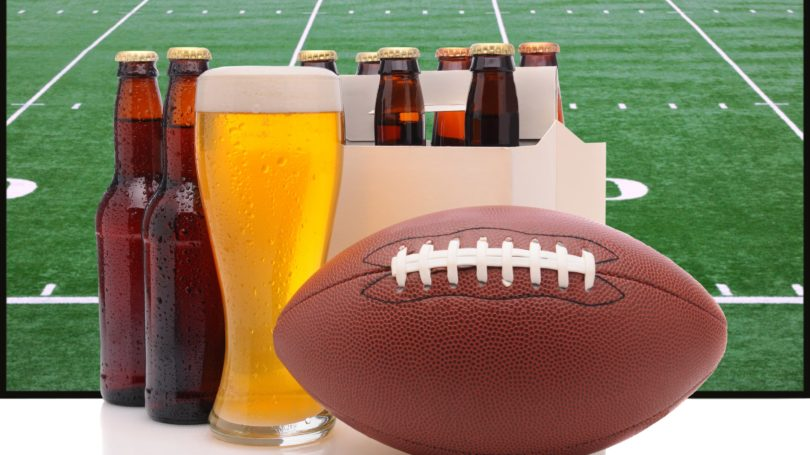 Beer Super Bowl Party Football Game Time