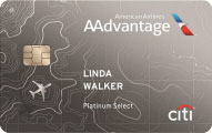 citi aadvantage platinum select card