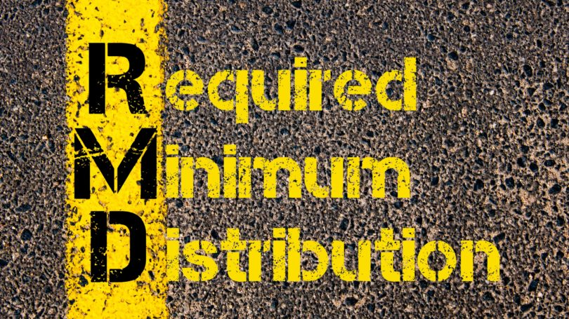 Required Minimum Distribution Concrete Street