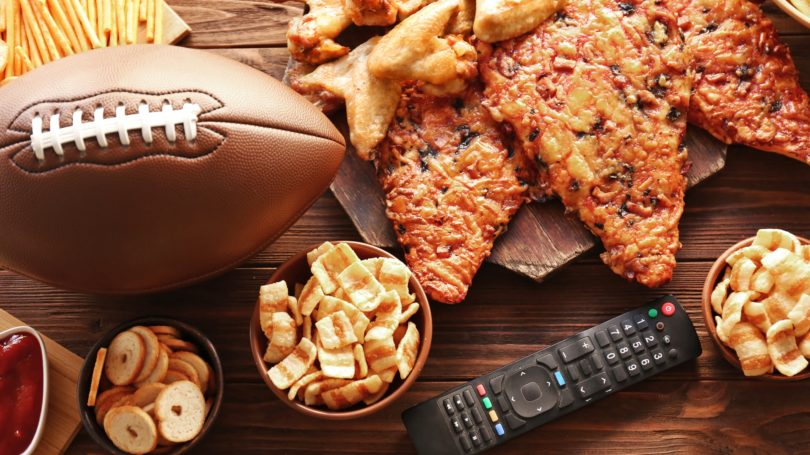 Super Bowl Party Food Snacks Game Time