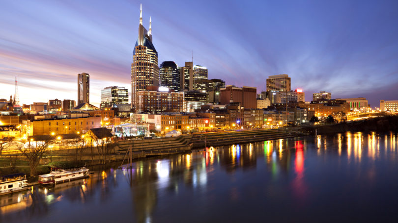 Nashville Tennessee Skyline