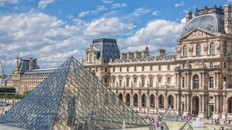 The Louvre Famous Museum