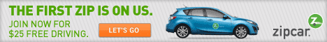 zipcar 25 credit