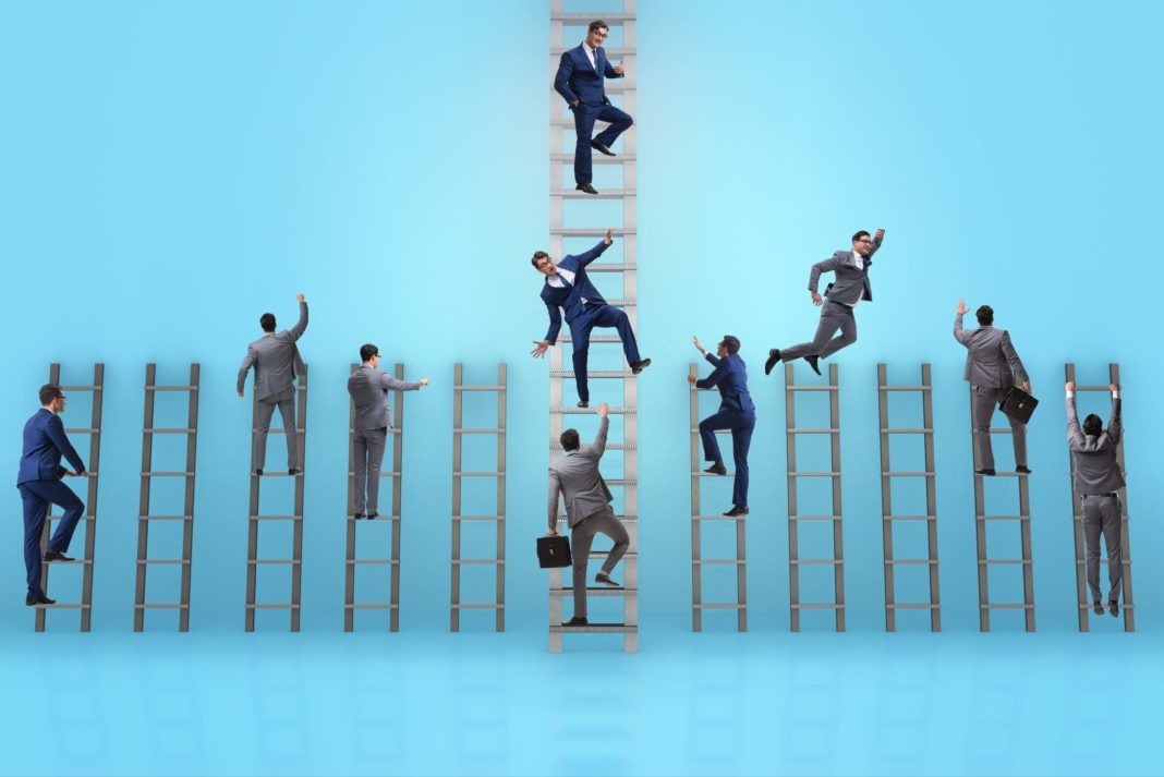 Climbing Corporate Ladder Competition Journey