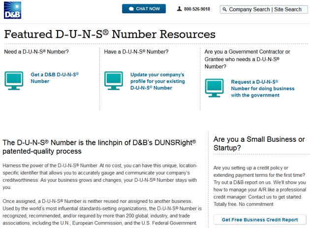 key characteristics of a d u n s number - Apply For Business Credit Card With Duns Number