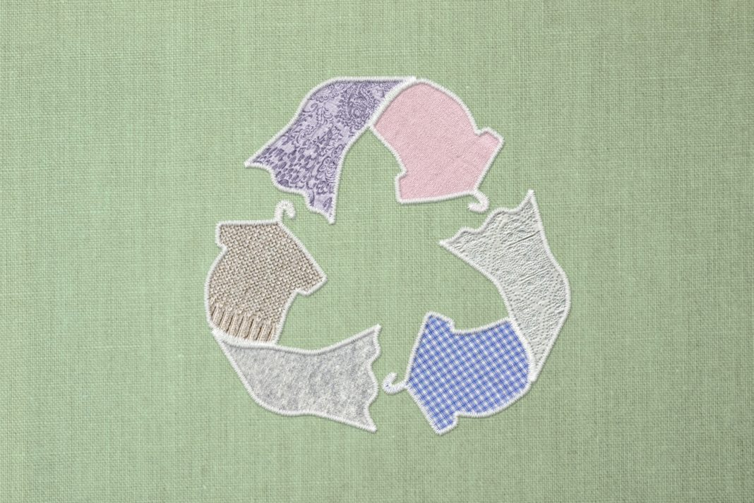 Recycle Clothes Symbol Shirt Hanger Eco Friendly