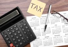 Calculator Calendar Table Tax