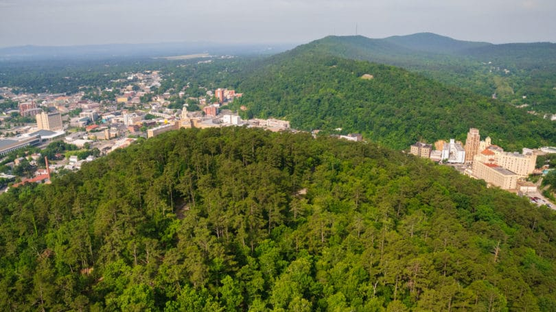 Hot Springs National Park View