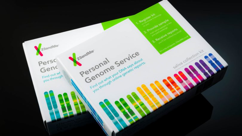 23 And Me Genome Personal Service Genetics Testing Kit