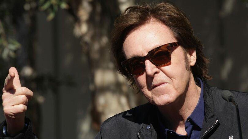 Famous Rockstar Paul Mccartney