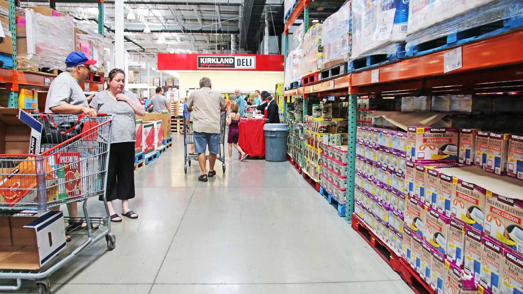 Is a warehouse store costco sams club bjs membership worth it costco interior photo by alastair wallace altavistaventures Images