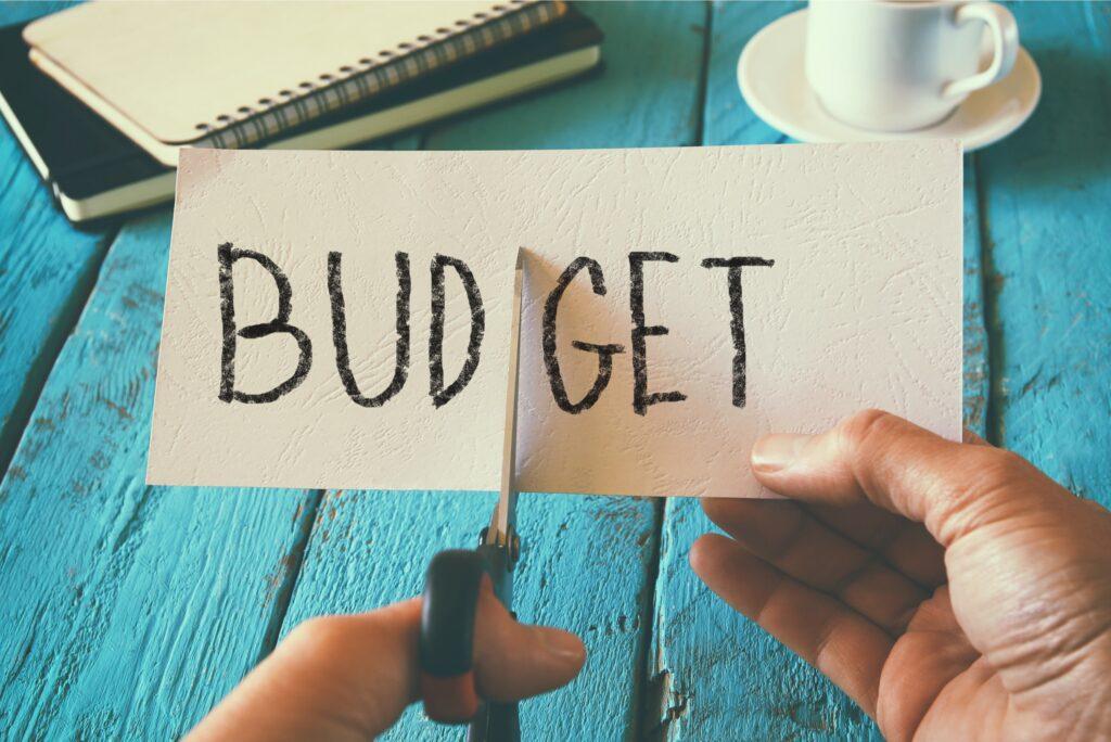 Budget Cutting Scissor