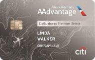 citibusiness aadvantage platinum select mastercard