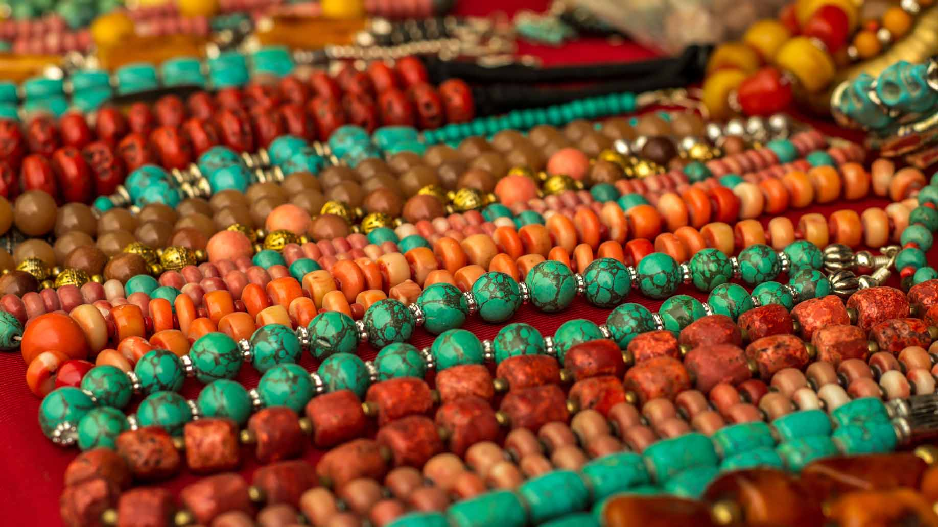 fair trade necklaces and crafts