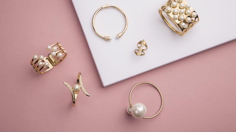 Pearl Gold Jewelry Rings
