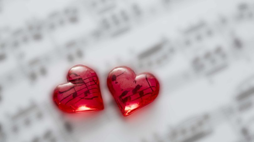 Song Of Love Hearts Music Sheet