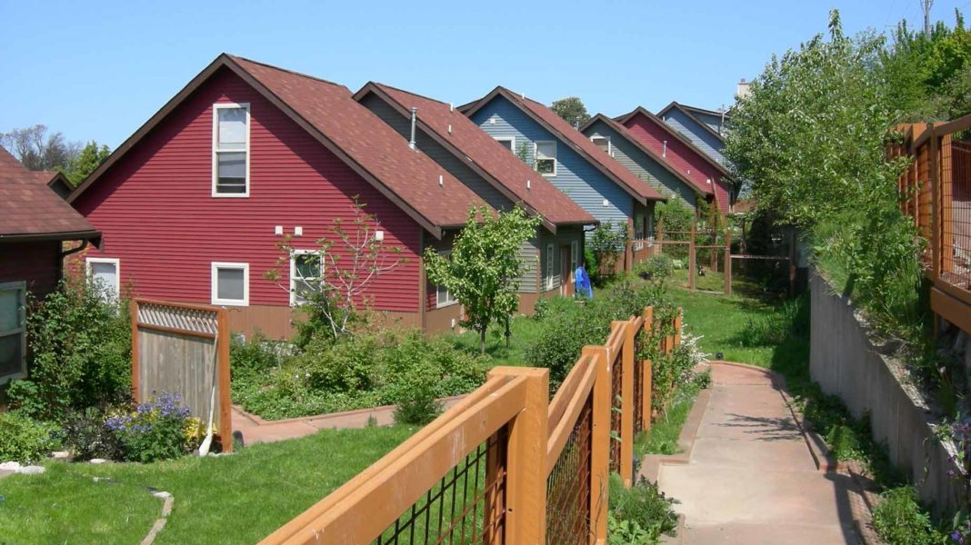 Duwamish Cohousing homes