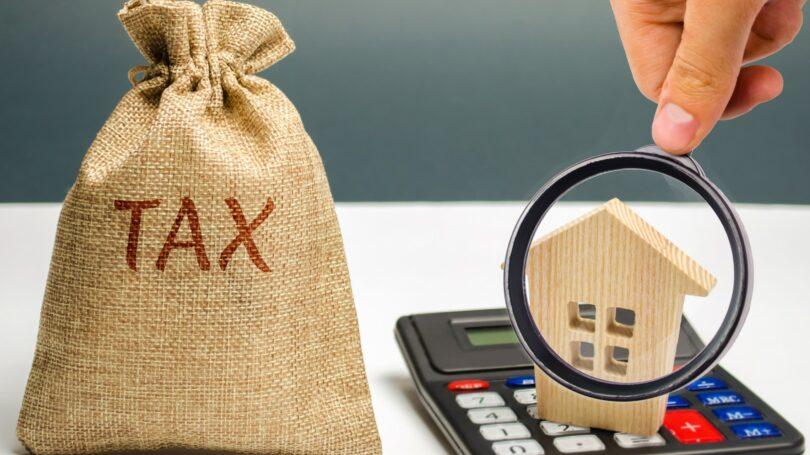 Estate Inheritance Tax Calculator Bag Of Money
