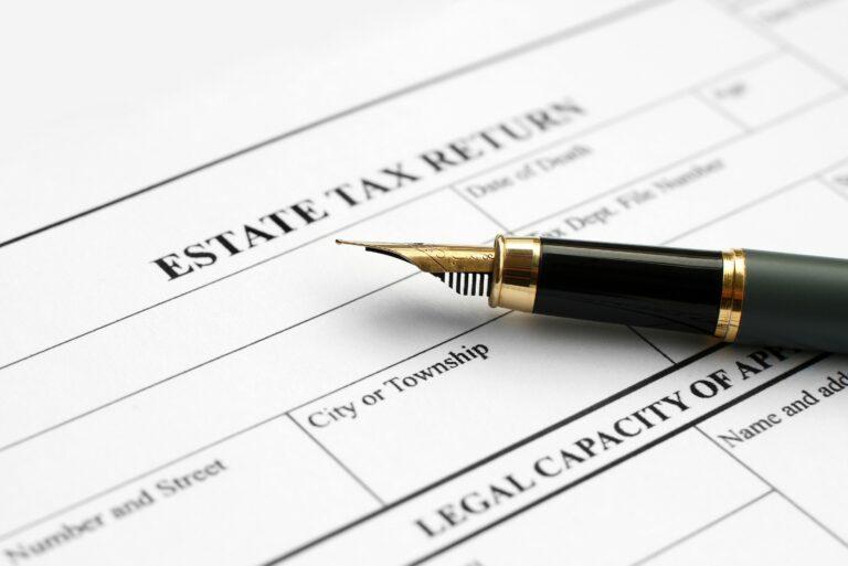 Estate Tax Return Pen