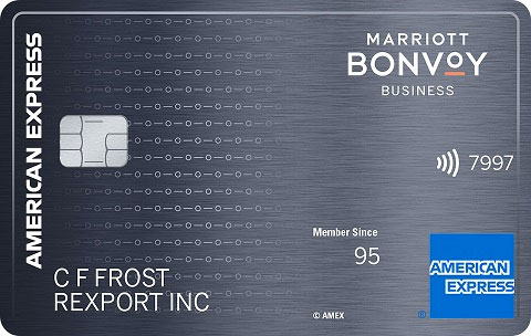 American Express Marriott Bonvoy Business Card